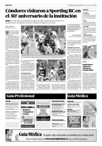 Diario El Mercurio, 21-4-2013