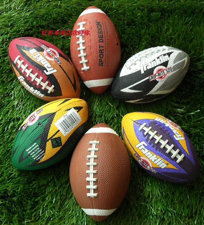 Kid-size-American-football-Rubber-Rugby-ball-free-shipping-1pcs-lot