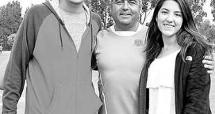 Entrenador Costa del Sol sr. Eduardo Martínez y familia