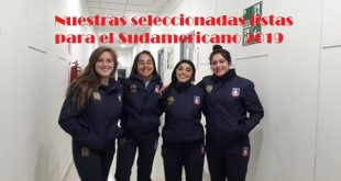 De izquierda a derecha Catalina Villarroel, Antonella Figueroa, Jazmin Jara, Mitzi Canale
